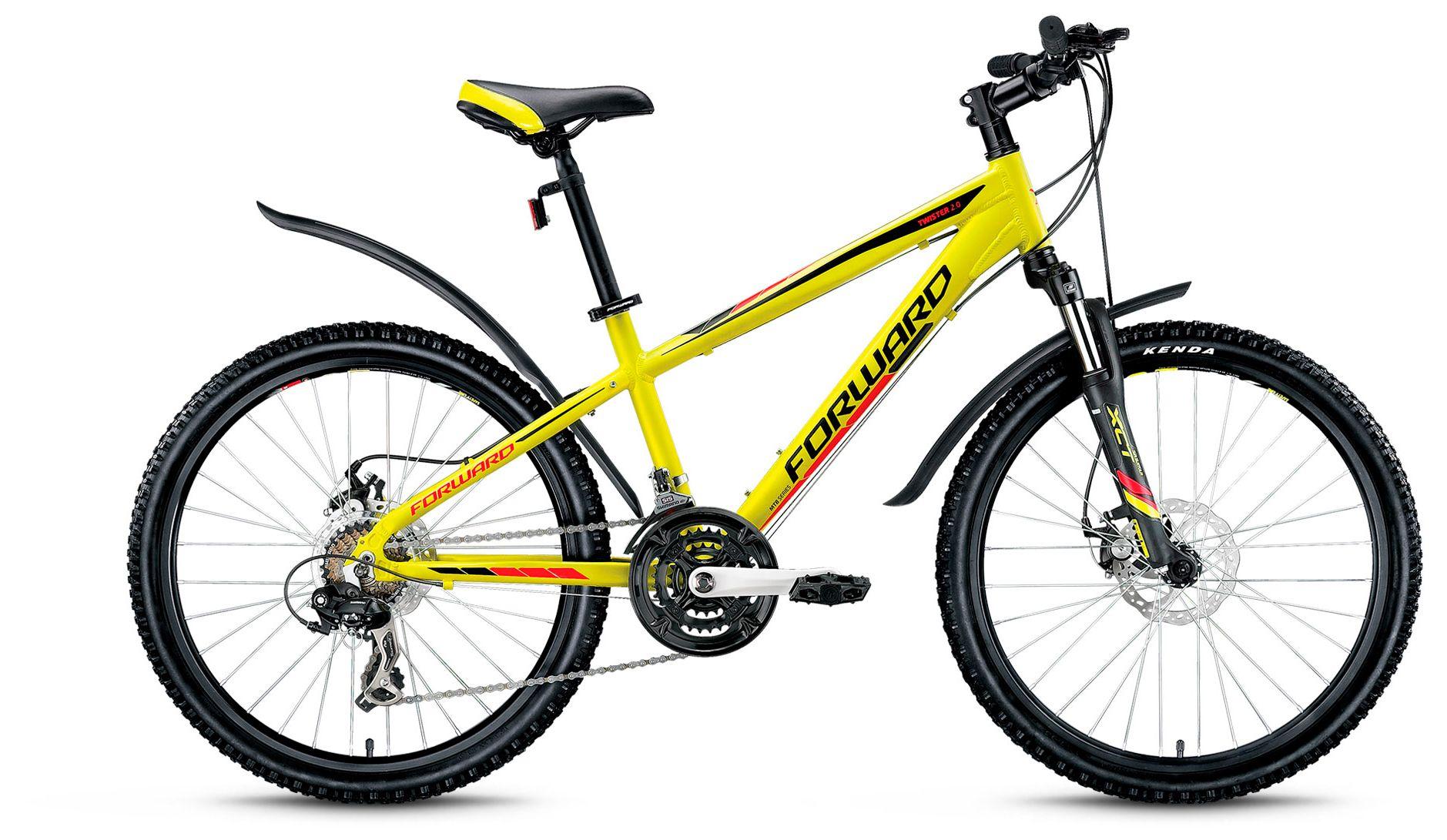 Велосипед Forward Twister 2.0 disc 2017,  Детские  - артикул:280129