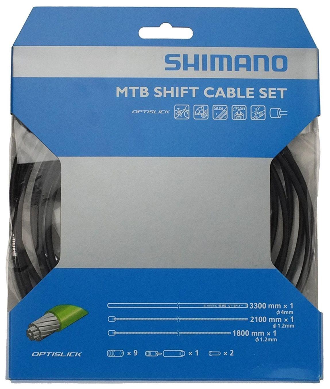 Запчасть Shimano трос и оплетка OPTISLICK (Y60198090) оплетка тормоза shimano slr 40м в коробке цвет желтый y80900018