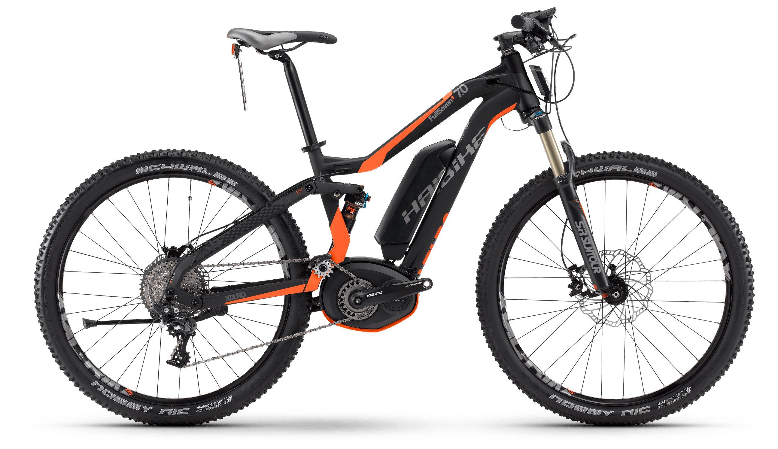 Велосипед Haibike Xduro FullSeven S 7.0 500Wh 2017