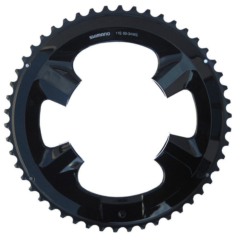 Запчасть Shimano передн., для FC-RS510, 50T-MS перекл передн shimano xtr fd m9020e 2x11v боковая тяга