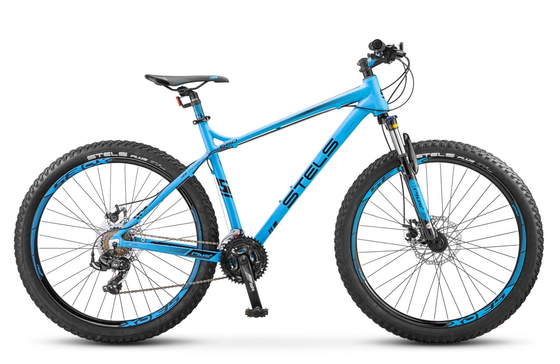 Велосипед Stels Navigator 660 MD 27.5+ (V020) 2019 велосипед stels navigator 810 2013