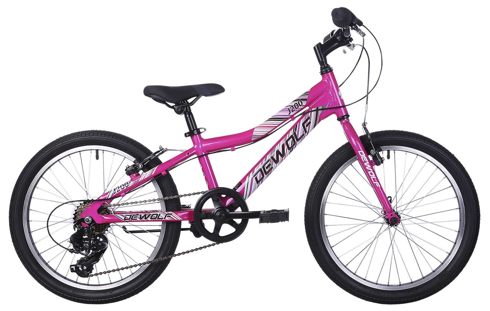 Велосипед Dewolf J200 Girl 2018 велосипед dewolf wave 210 2018