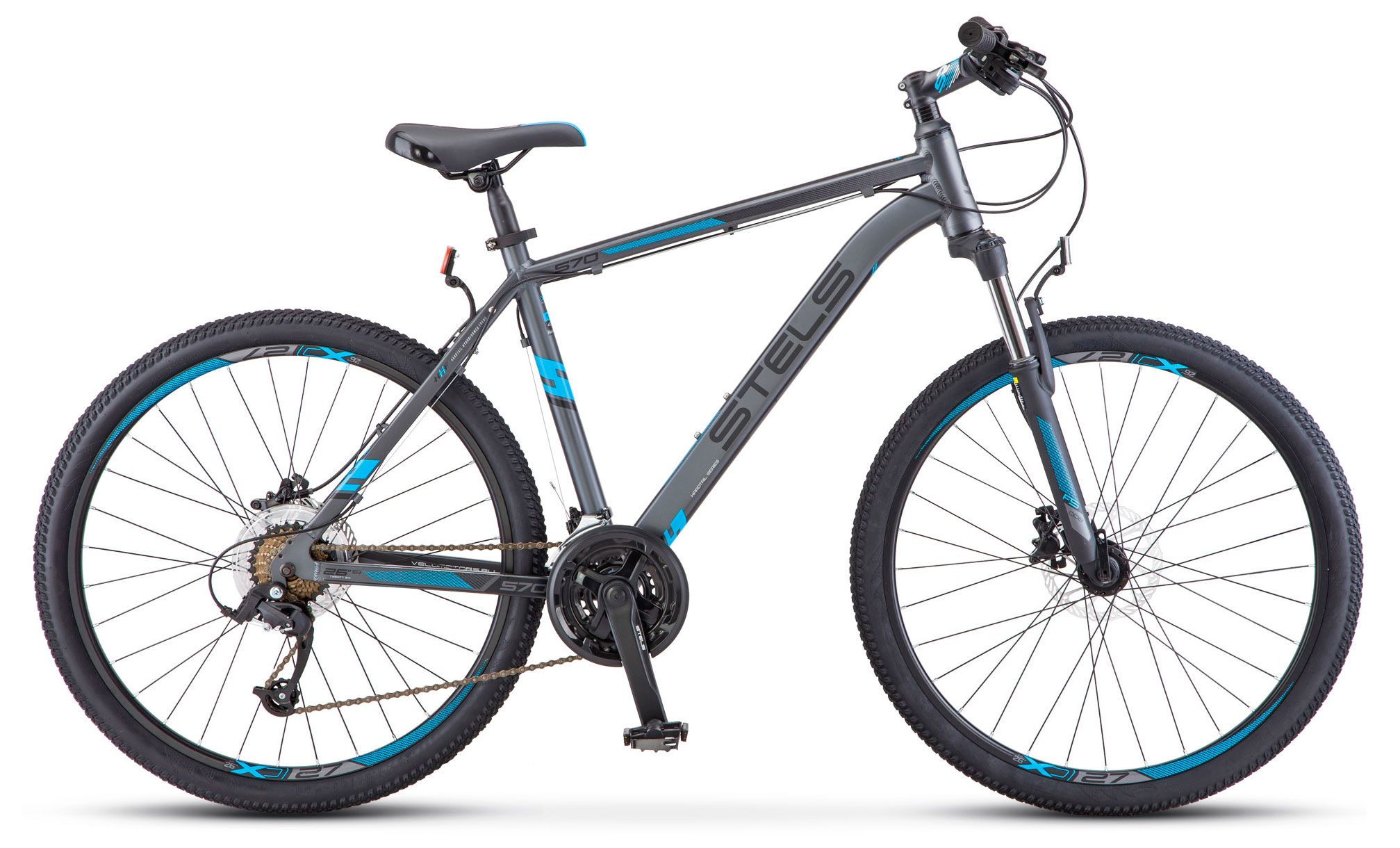 Велосипед Stels Navigator 570 D 26 (V010) 2018 велосипед stels navigator 750 d 26 2015