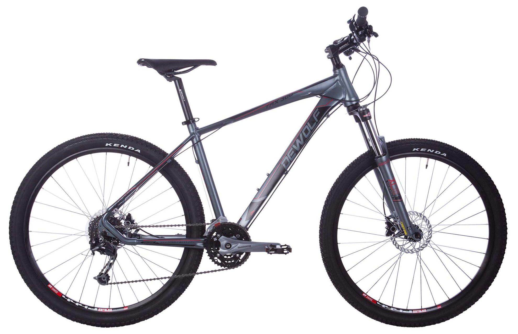 Велосипед Dewolf TRX 300 2018