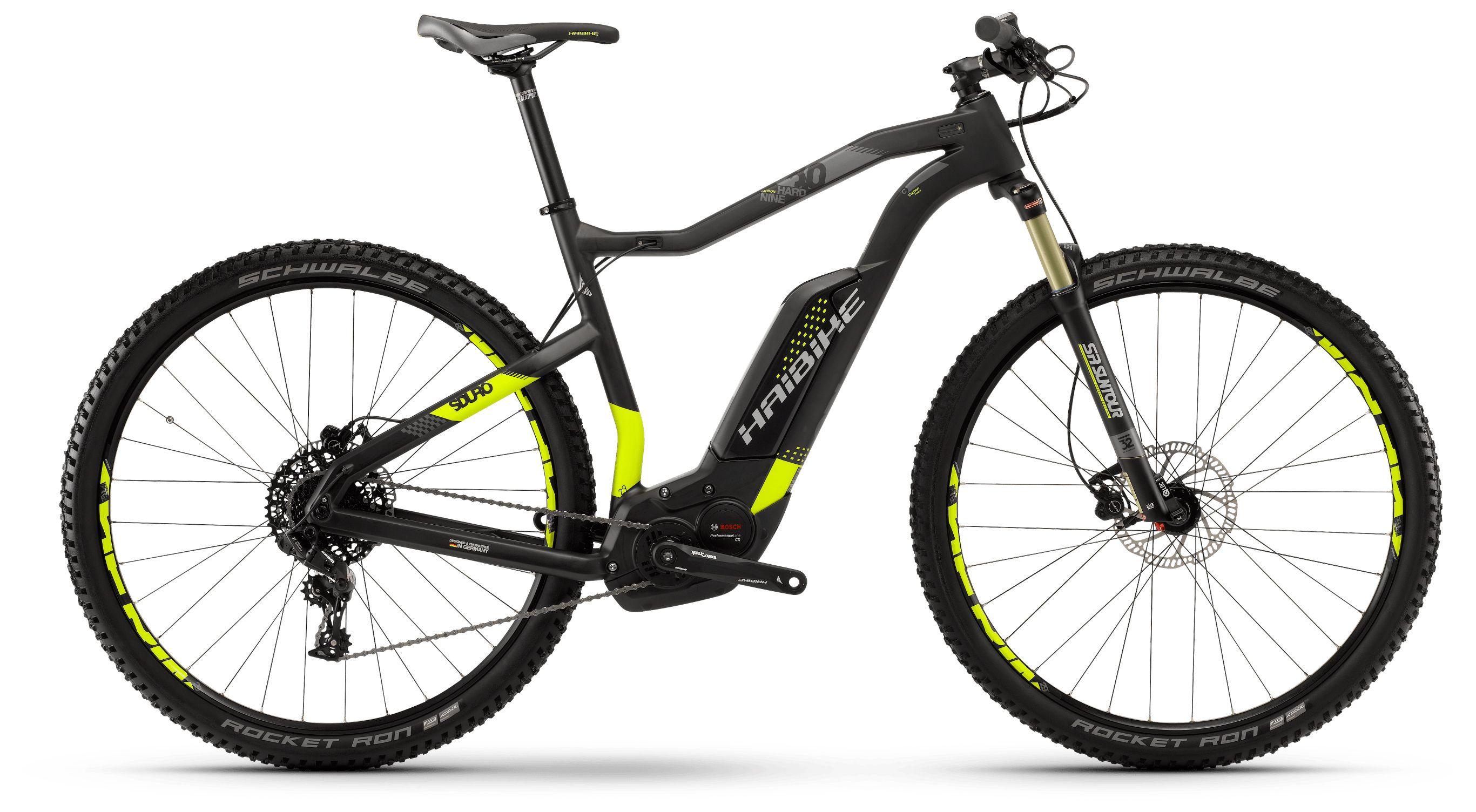 Велосипед Haibike Sduro HardNine Carbon 8.0 500Wh 11s NX 2018