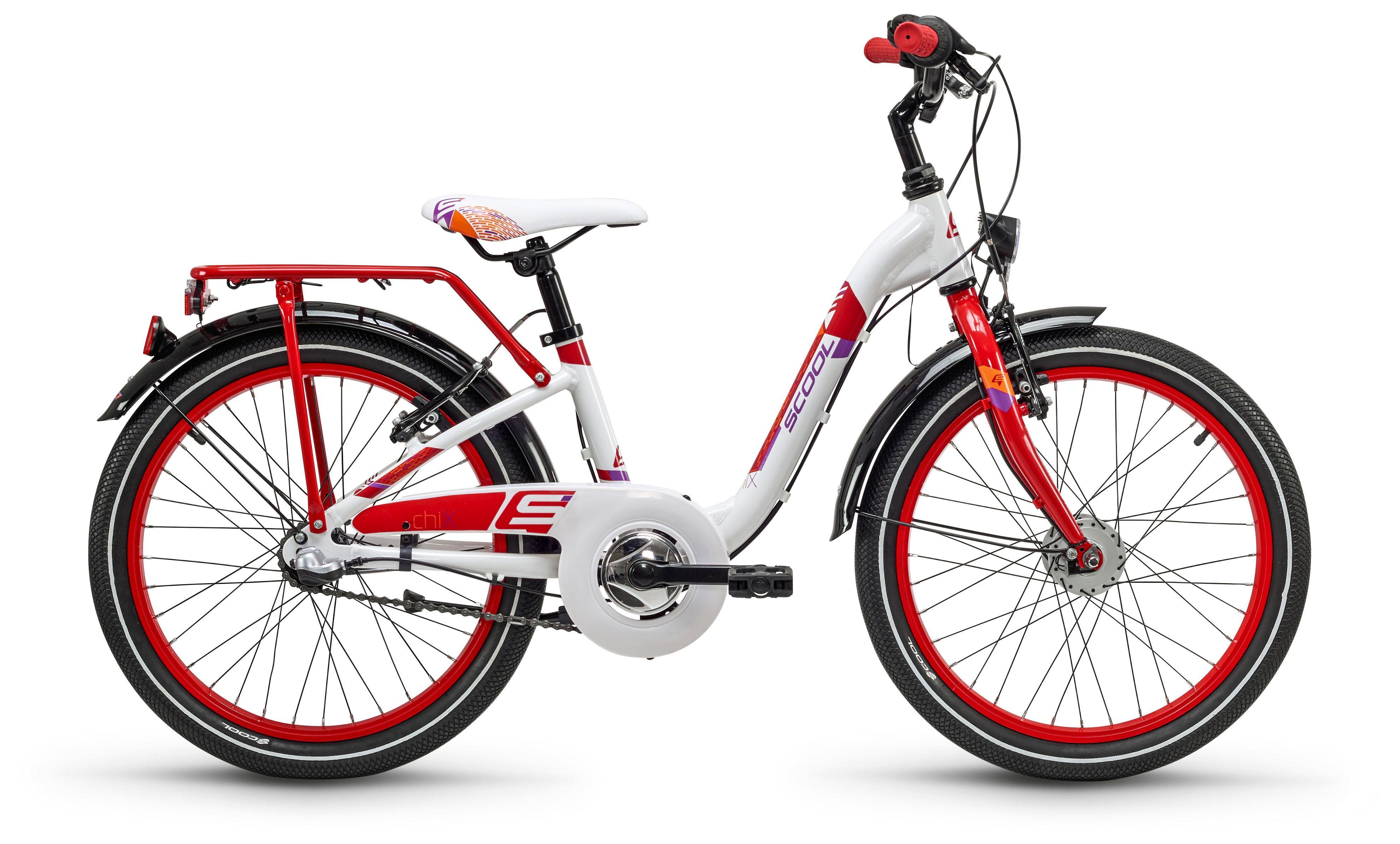 Велосипед Scool chiX alloy 20 3-S 2018 цена