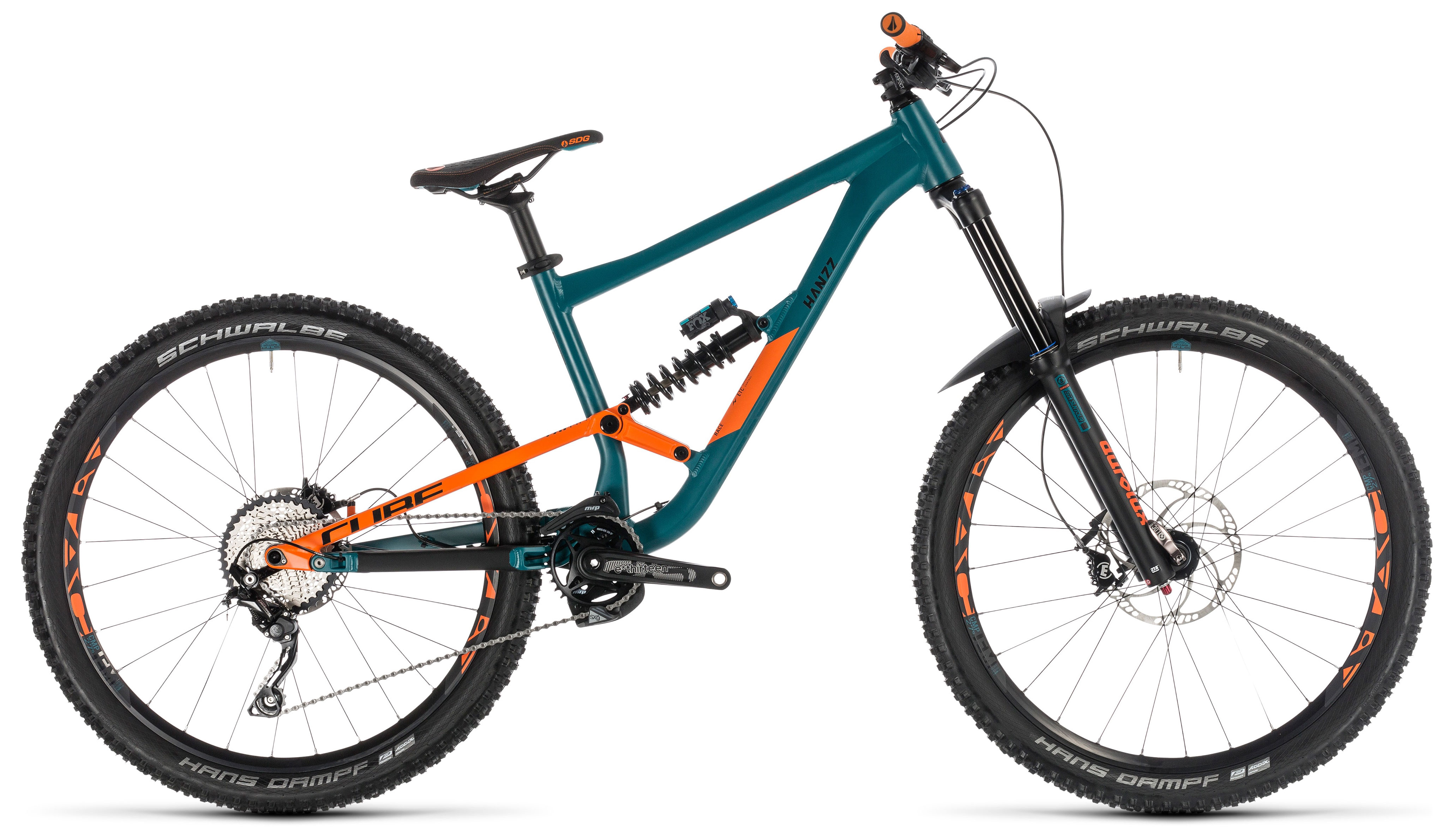 Велосипед Cube Hanzz 190 Race 27.5 2019