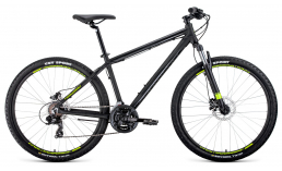 Синий велосипед  Forward  Apache 27.5 3.0 Disc  2020