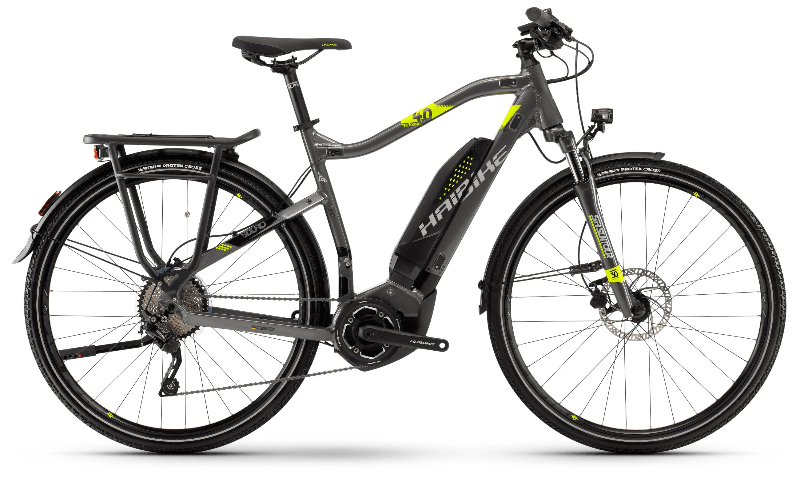 Электровелосипед Haibike Sduro Trekking 4.0 He 400Wh 10s Deore 2018