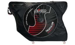 Чехол для велосипеда  Scicon  AeroComfort Triathlon with external lateral shields - Black 131*45*90 cm