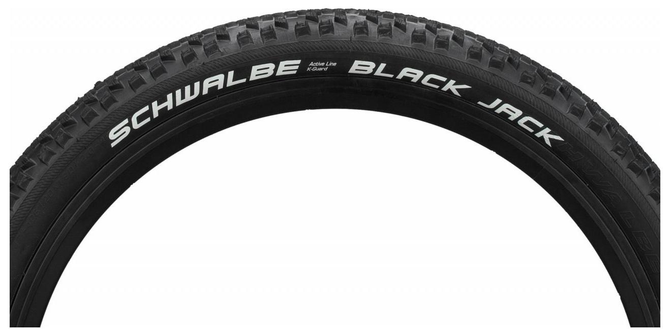 Schwalbe REIFEN BLACK JACK 54-559 SW DR SBC HS407 26X2.10 K-GUARD SB11132417.02