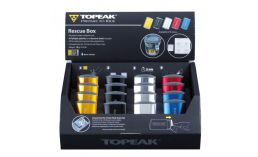 Велоаптечка  Topeak  Rescue Box Counter Display Box 16 шт.