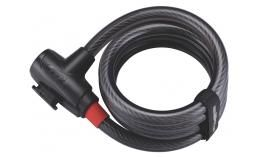 Замок на ключе для велосипеда  BBB  BBL-41 PowerLock coil cable 15 мм x 1800 мм