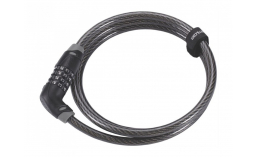 Замок для велосипеда  BBB  BBL-66 QuickCode Coil cable 8mm x 1200mm