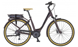 Городской электровелосипед  Scott  Sub Active eRide 10 USX Rack  2020